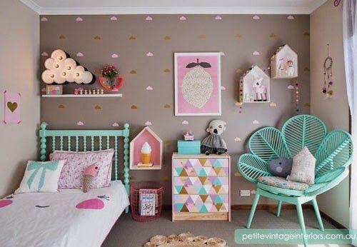 Decoracao De Quarto Feminino Verde ~ Dicas de decora??o para quarto infantil feminino 4