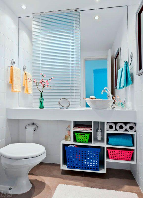 Dicas e inspirações de lavabos decorados 10