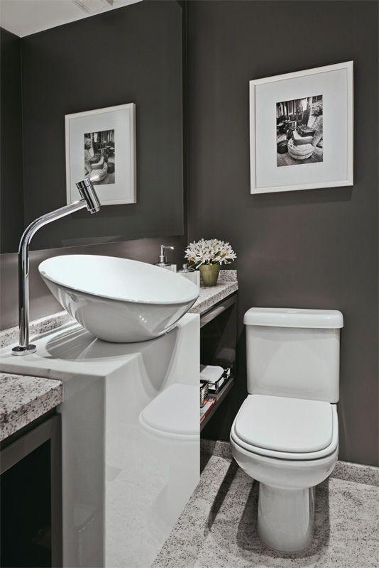 Dicas e inspirações de lavabos decorados 11