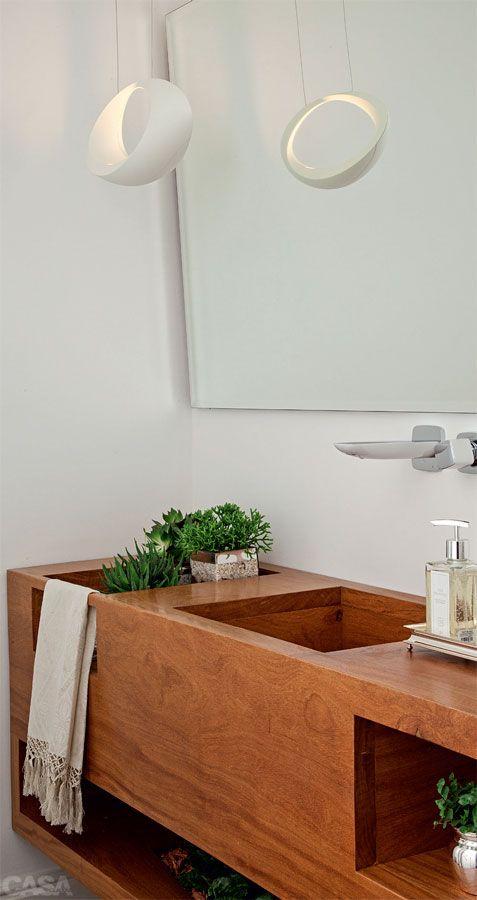 Dicas e inspirações de lavabos decorados 13