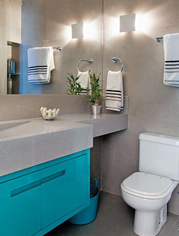 Dicas e inspirações de lavabos decorados 15
