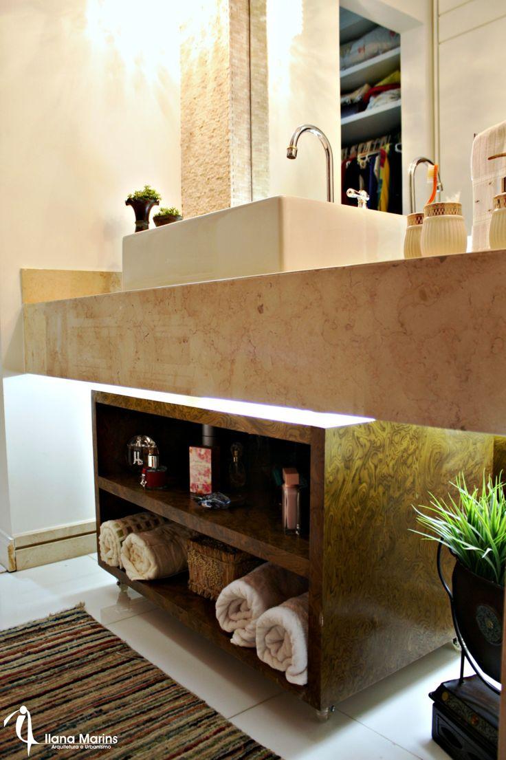 Dicas e inspira es de lavabos decorados for Armarios para lavabos