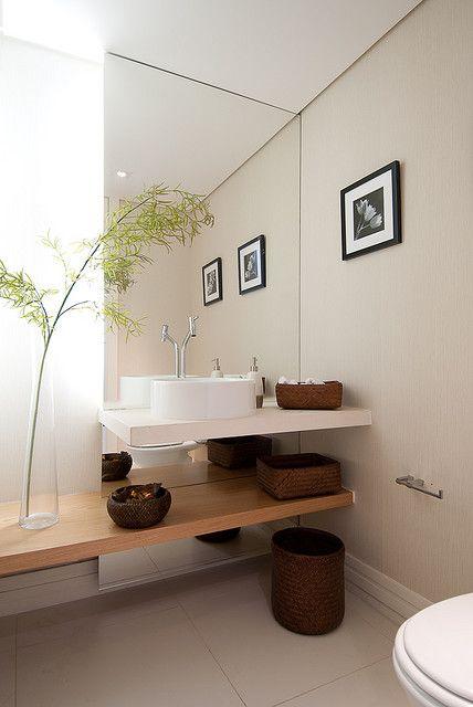 Dicas e inspirações de lavabos decorados 5