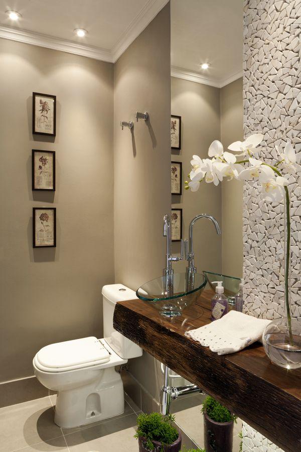 Dicas e inspirações de lavabos decorados 6