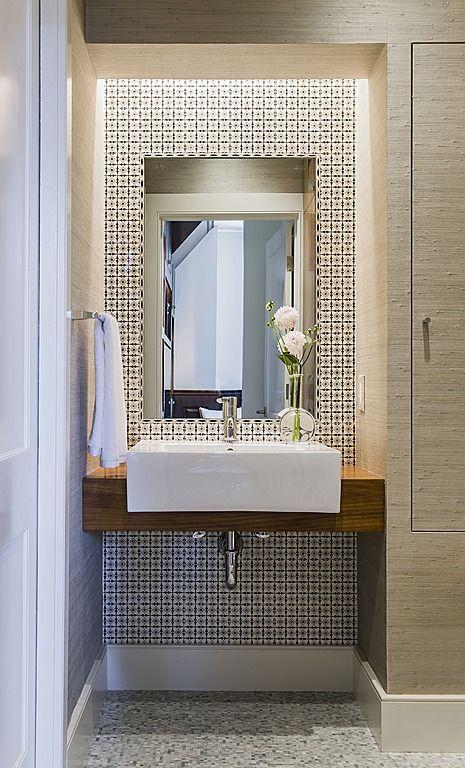 Dicas e inspirações de lavabos decorados 7