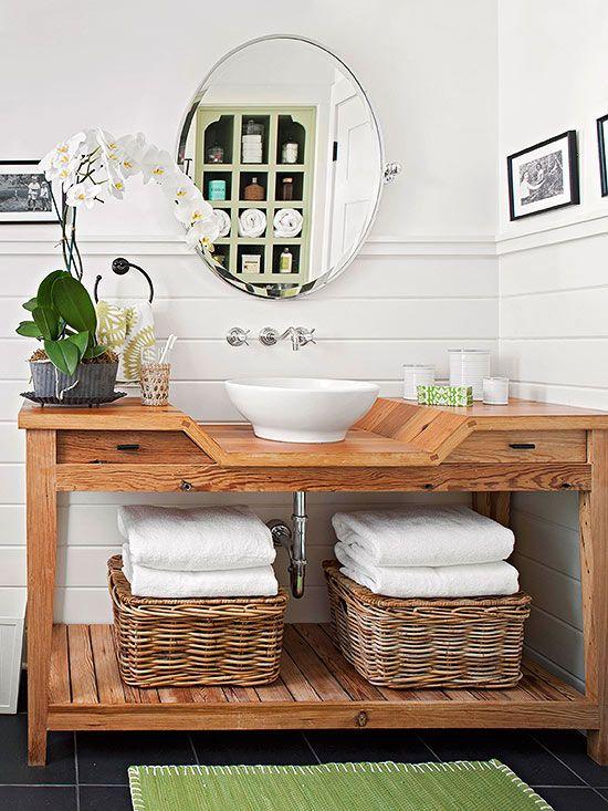 Dicas e inspirações de lavabos decorados 8