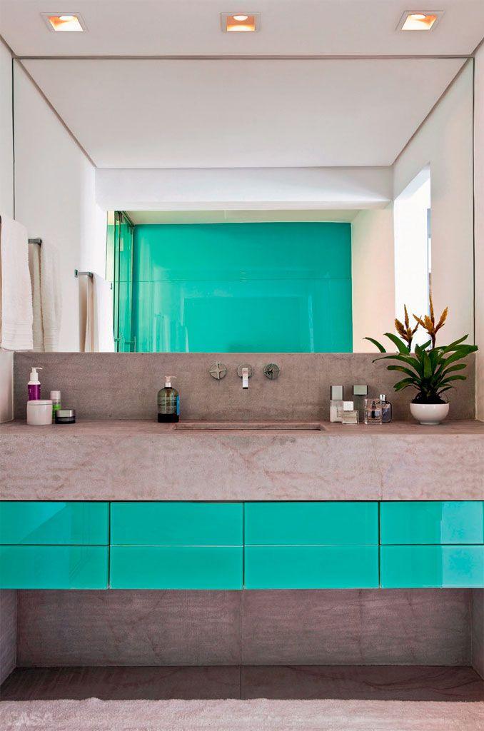 Dicas e inspirações de lavabos decorados 9