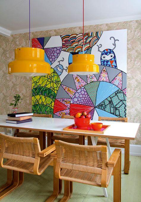 Sala de jantar decorada 12