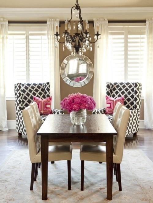 Sala de jantar decorada 14