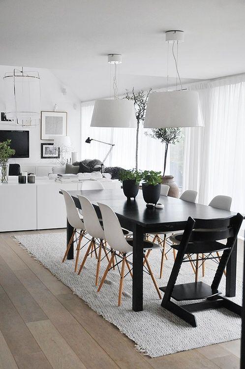 Sala de jantar decorada 4