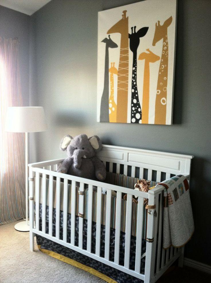 Dicas de decoração para quartos de bebe masculino 10