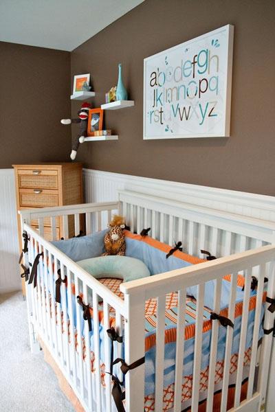 Dicas de decoração para quartos de bebe masculino 14