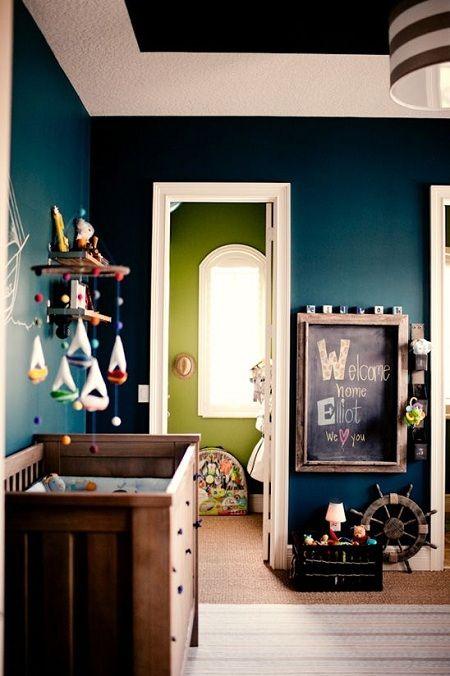 Dicas de decoração para quartos de bebe masculino 4