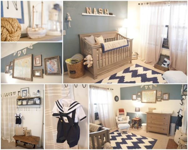 Dicas de decoração para quartos de bebe masculino 9
