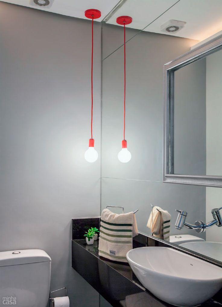 iluminação no banheiro 12