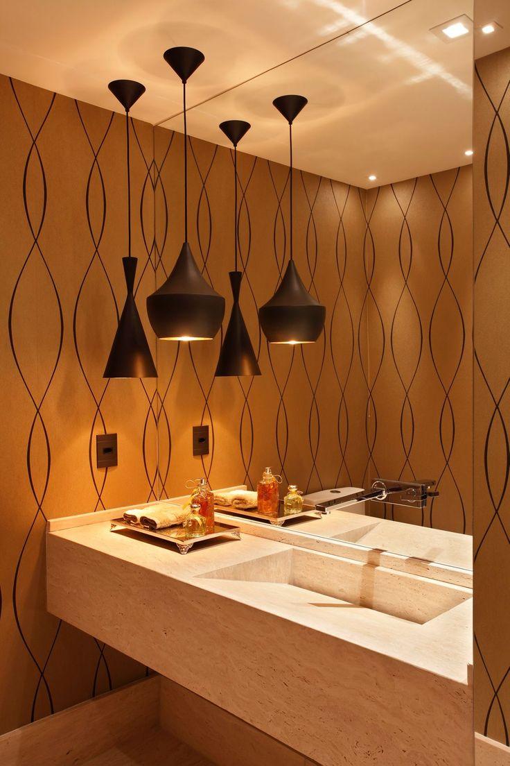 iluminação no banheiro 5