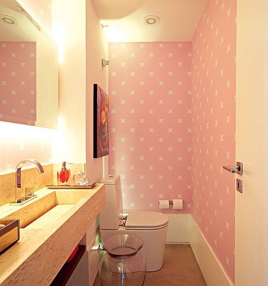 iluminação no banheiro 9