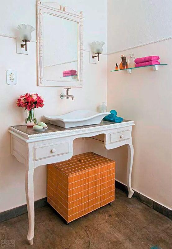 Dicas e inspirações de lavabos decorados 2