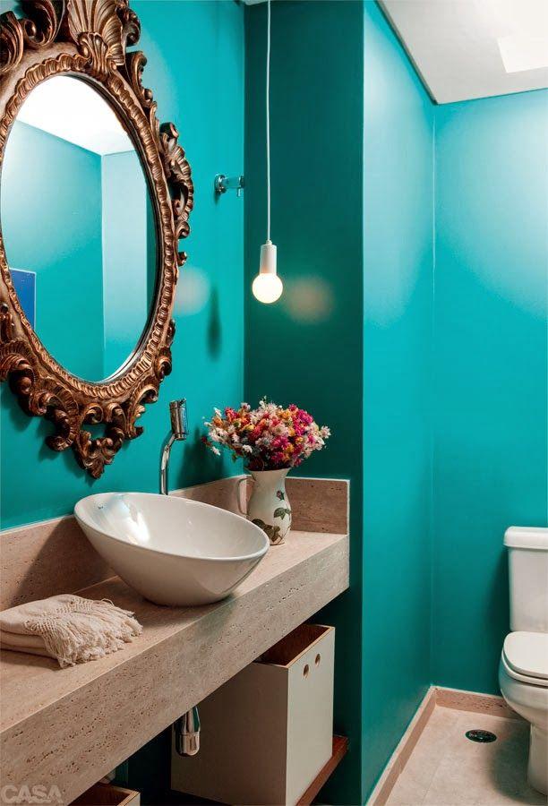 Dicas e inspirações de lavabos decorados