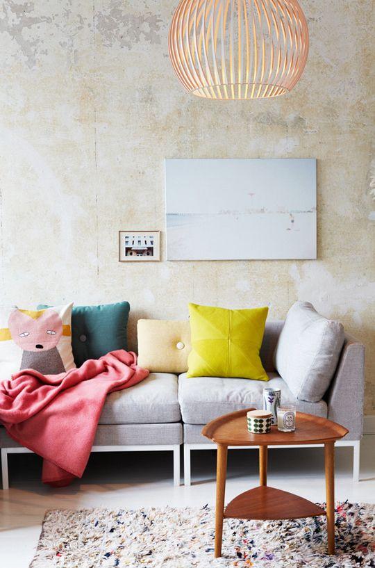 Como decorar: salas coloridas 4