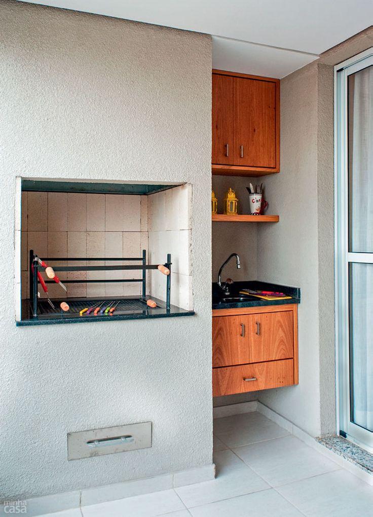 Churrasqueira em apartamento 8