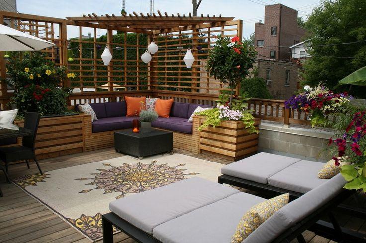 Decoração de terraço 4
