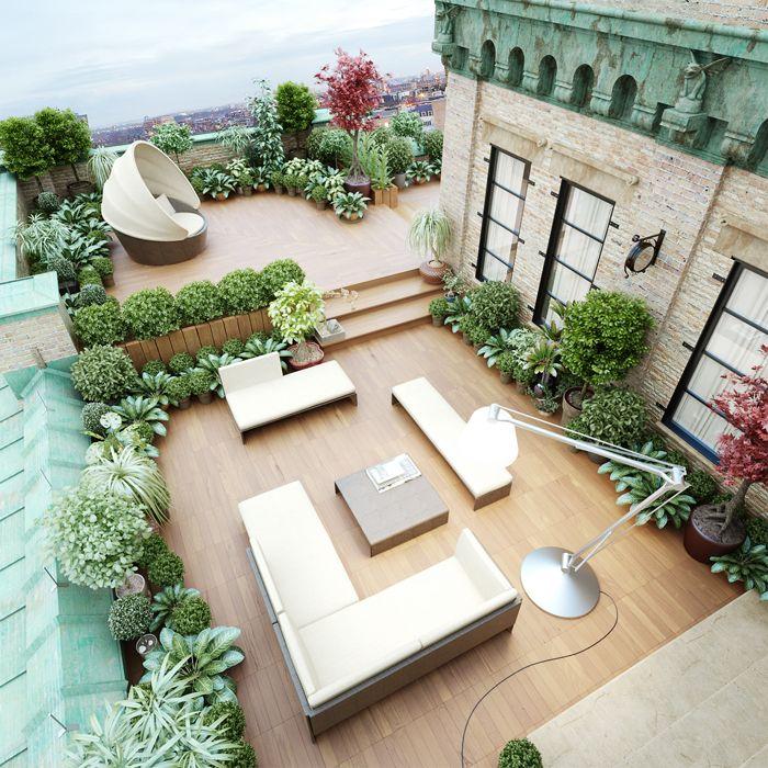 Decoração de terraço 5