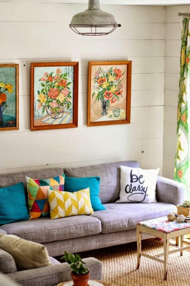 decoracao sala zebra : decoracao sala zebra:Inspiração: sala com sofá cinza