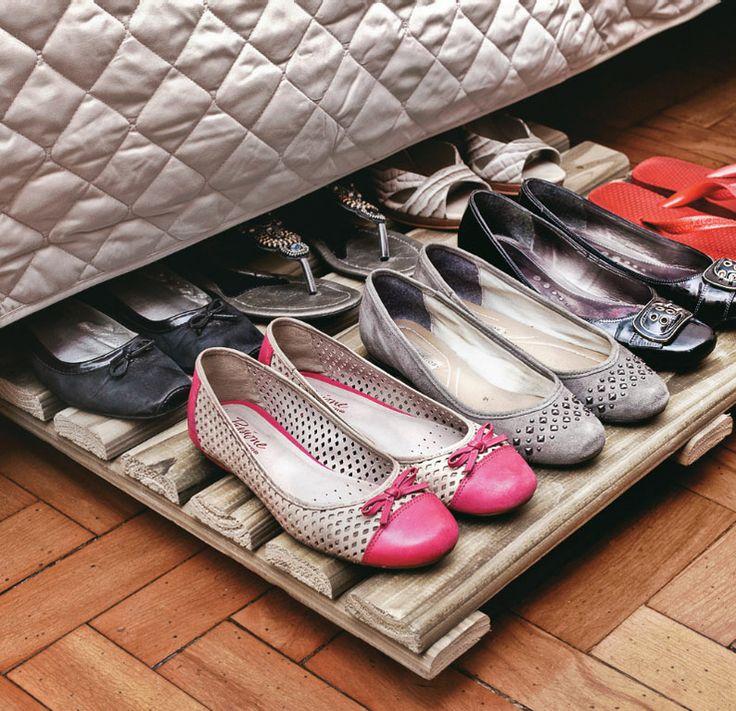 5 formas de organizar os sapatos 2