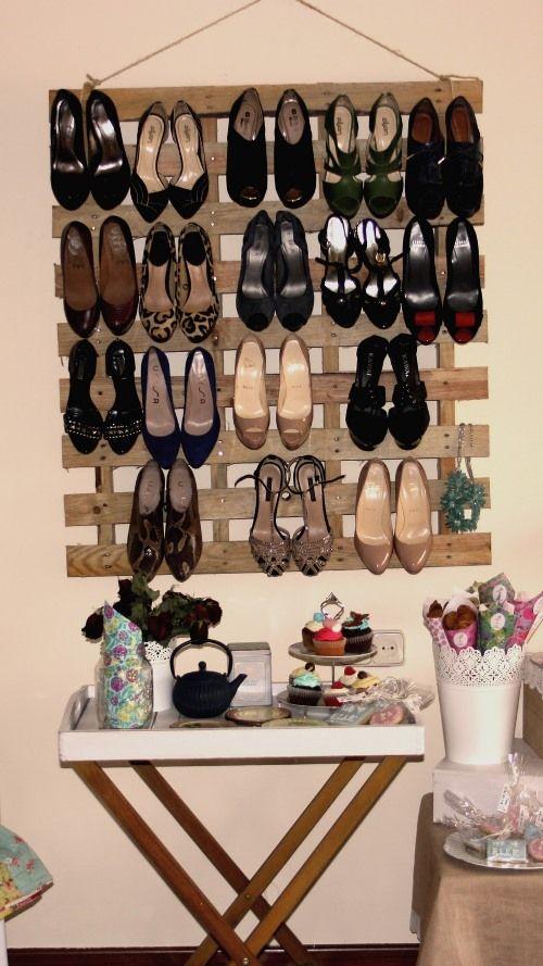 5 formas de organizar os sapatos 3