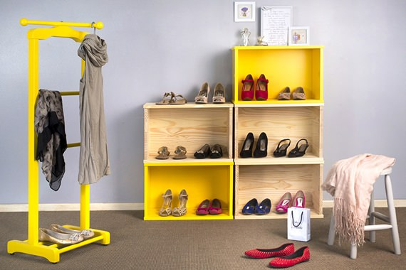 5 formas de organizar os sapatos 5