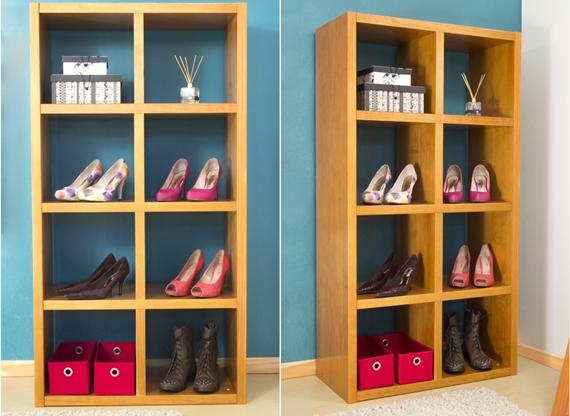 5 formas de organizar os sapatos 6