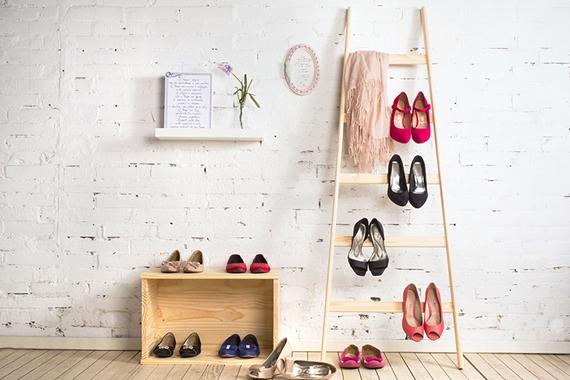 5 formas de organizar os sapatos 8