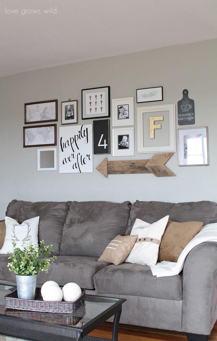 Como decorar a sala sem gastar muito 8
