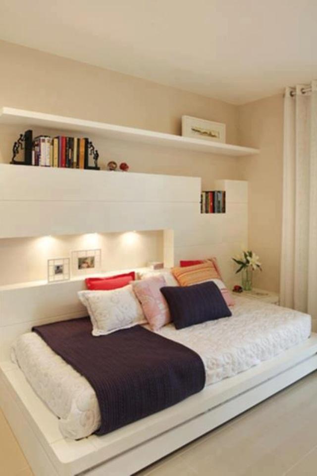 Como decorar um quarto pequeno ~ Quarto Solteiro Design
