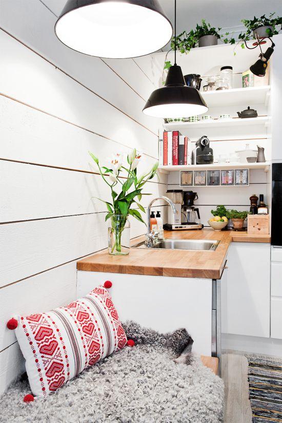 Como decorar uma cozinha pequena 4