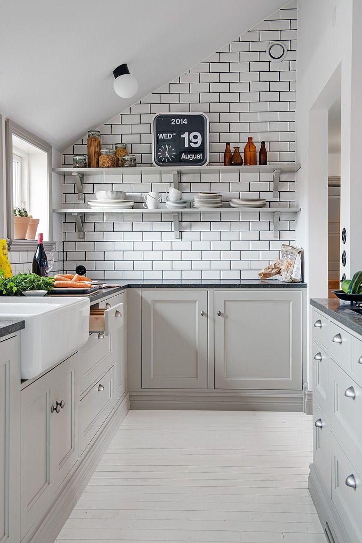 Como decorar uma cozinha pequena 8