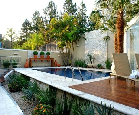 Como renovar a área da piscina 12