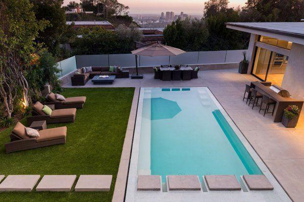 Como renovar a área da piscina