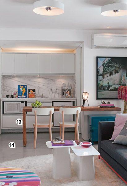 Cozinha com mesa 3