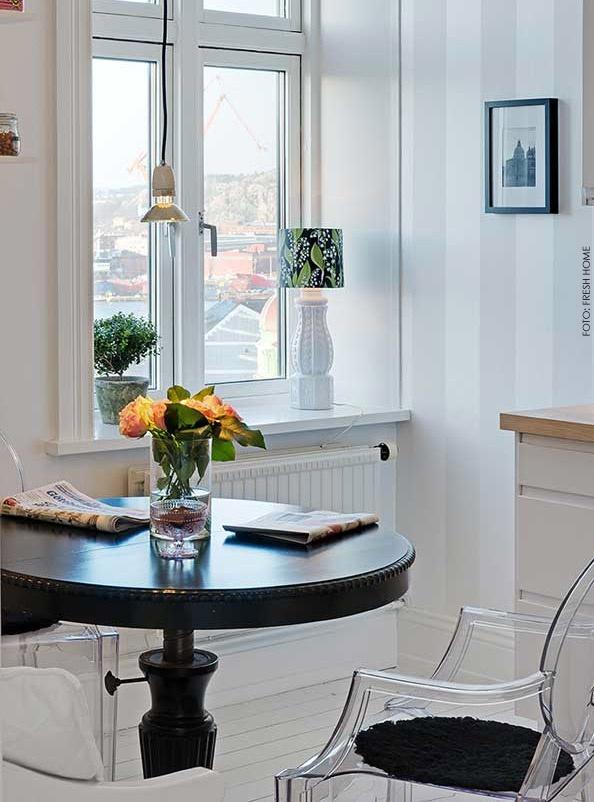 Cozinha com mesa 6