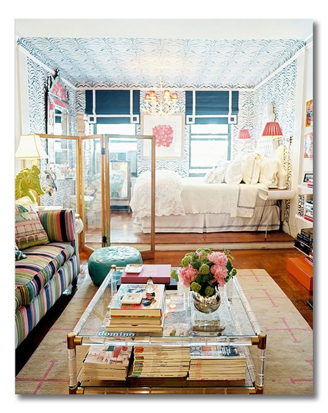 Decoração de apartamentos pequenos 11