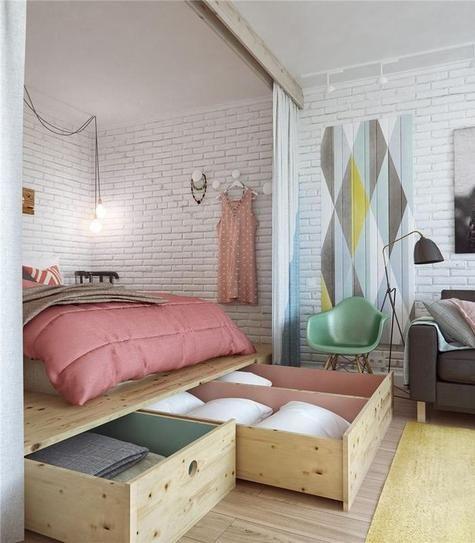 Decoração de apartamentos pequenos 6