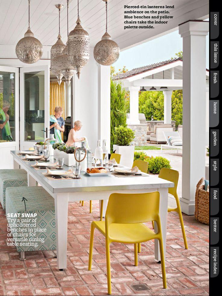 Ideias de pisos para área externa 8