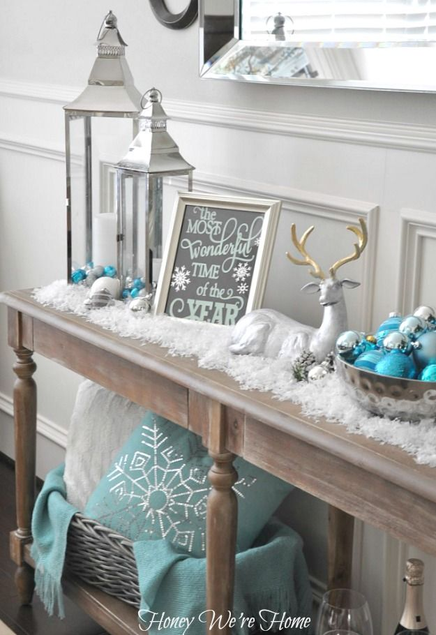 Sala de jantar decorada para o Natal 5