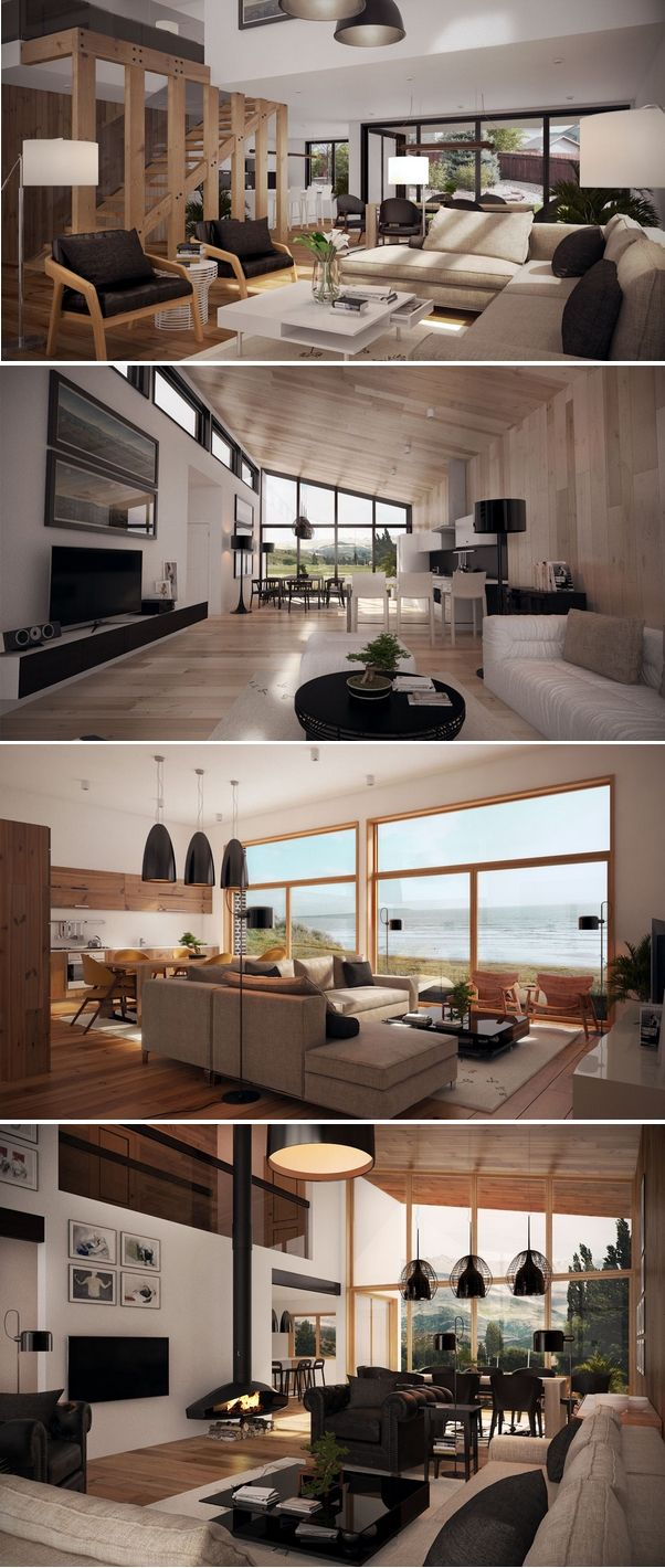Salas modernas 10