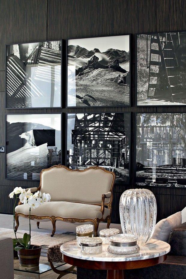 decoração com foto na parede 11