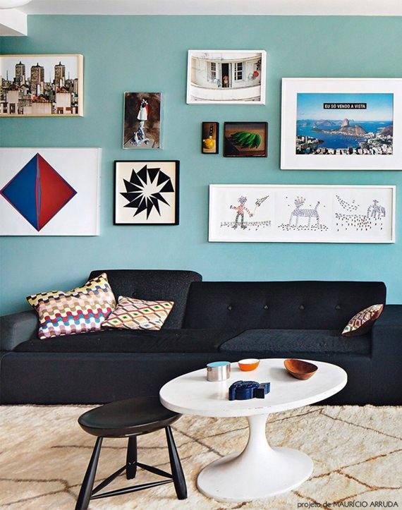 decoração com foto na parede 4