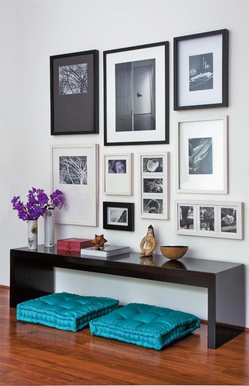 decoração com foto na parede 7