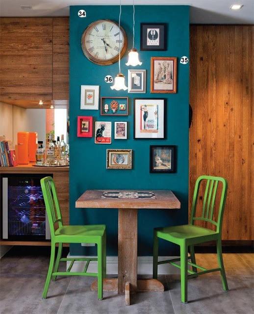 decoração com foto na parede 8